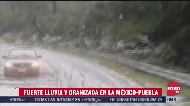 FOTO: 5 de julio 2020, se registran granizadas y deslaves en la mexico puebla