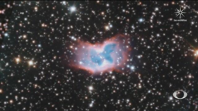 Mariposa Espacial captada por Telescopio del Observatorio Austral Europeo
