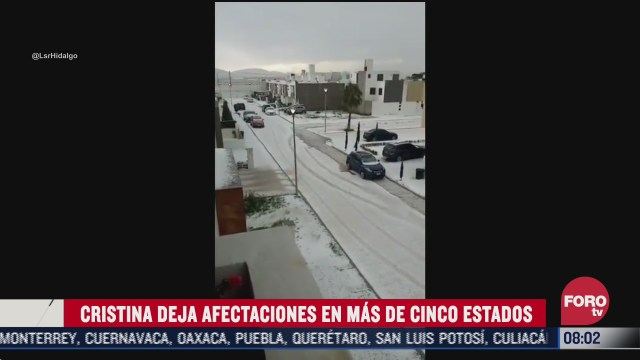 FOTO: 11 de julio 2020, tormenta tropical cristina deja afectaciones en cinco estados de mexico