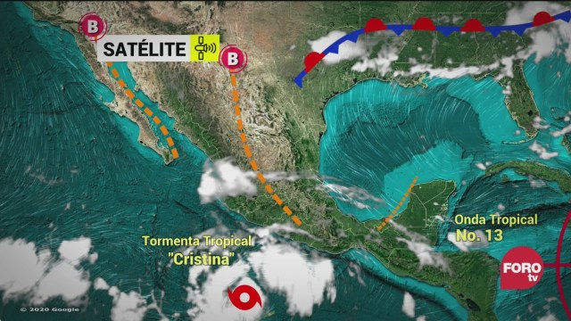 tormenta tropical cristina provocara intensas lluvias proteccion civil