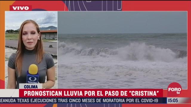 tormenta tropical cristina seguira afectando a colima