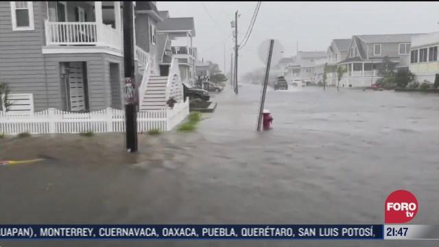 """Tormenta tropical """"Fay"""" impacta costa este de EEUU"""
