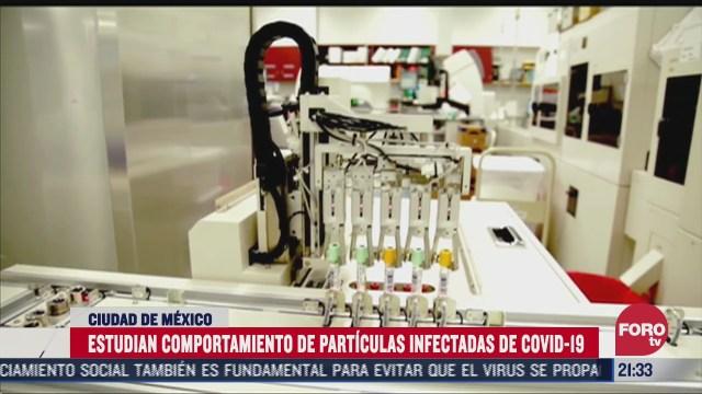 unam investiga particulas infectadas por covid