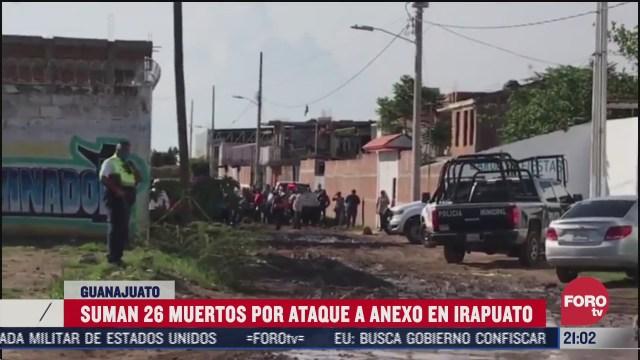 anexo o centra de reahabilitación atacado en Irapuato Guanajuato