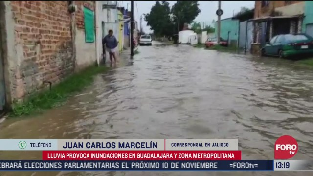 viviendas resultan afectadas por fuerte lluvia en zona metropolitana de guadalajara
