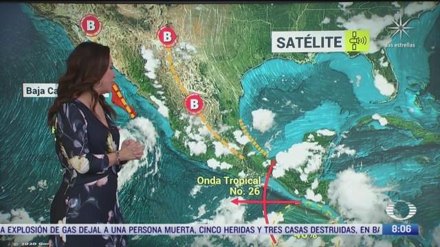 Clima Al Aire: Prevén lluvias fuertes en la Ciudad de México