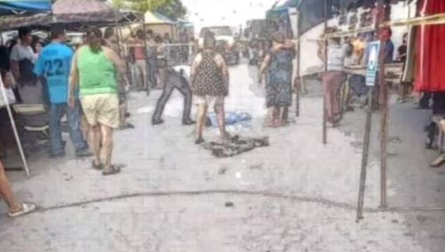 Accidente en mercado de Nuevo León