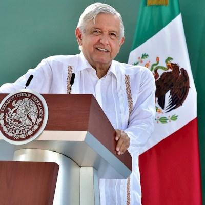 El presidente Andrés Manuel López Obrador, durante una rueda de prensa en la ciudad de Cajeme, Sonora