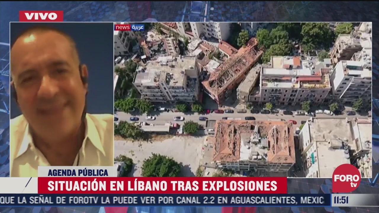 analisis de la explosion en beirut libano