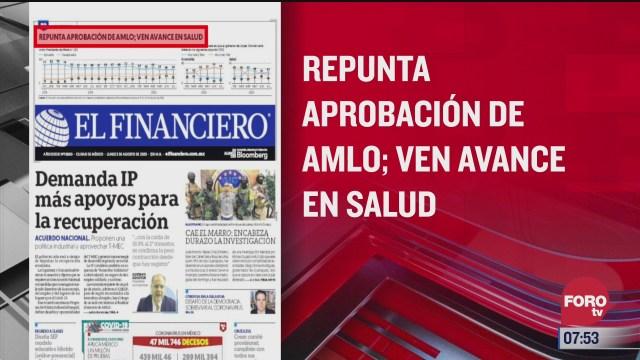 analisis de las portadas nacionales e internacionales del 3 de agosto del