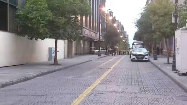 Un hombre fue asesinado la tarde de este sábado 29 de agosto en calles del Centro Histórico de la Ciudad de México