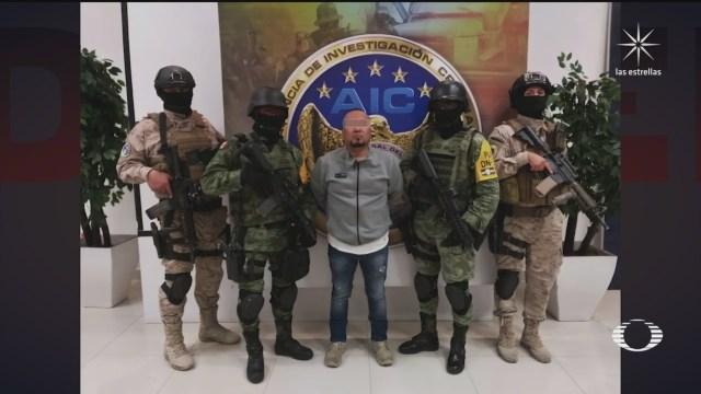 detencion de El Marro', líder del Cártel de Santa Rosa de Lima