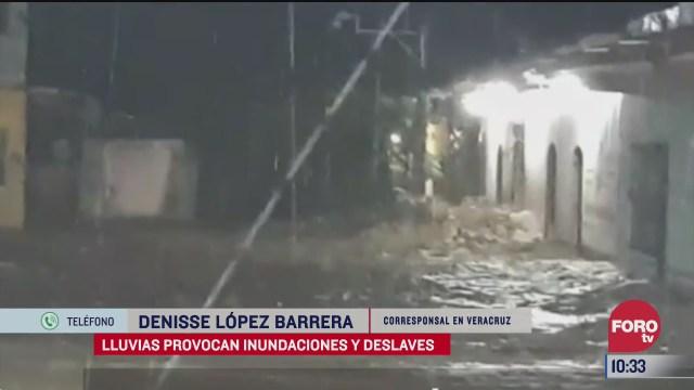aumentan municipios afectados por inundaciones en veracruz