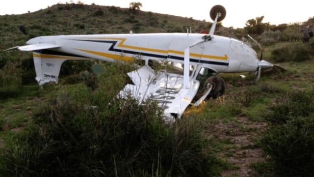 Se desploma avioneta en el Gran Peñón, San Luis Potosí