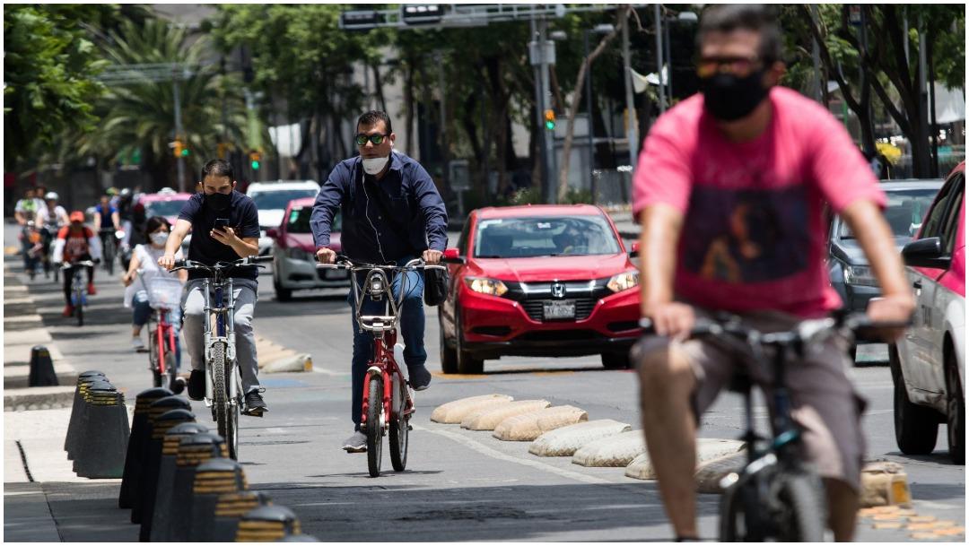 Reparan bicicletas para médicos