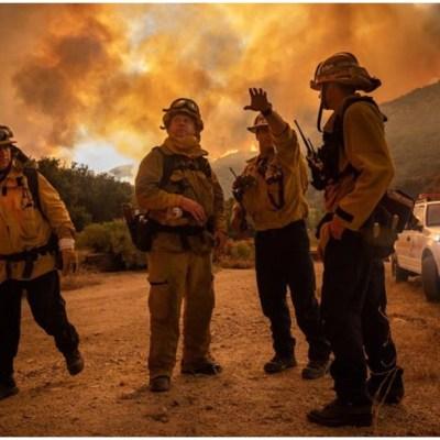 Fotos: Las imágenes más impactantes de los incendios en California