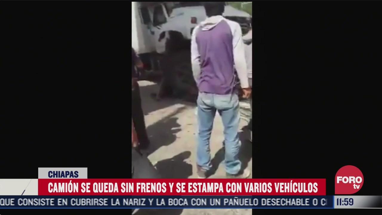 FOTO: 1 de agosto 2020, Fuerte accidente en la entrada de Oxchuc, Chiapas, deja varios heridos