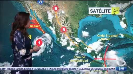 canal de baja presion provocara lluvias en gran parte de mexico 11 agosto