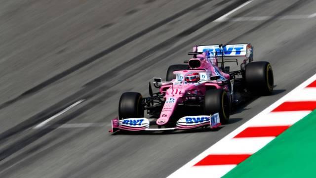 El mexicano Sergio 'Checo' Pérez terminó quinto en el Gran Premio de España en su vuelta a las pistas tras contagiarse de COVID-19