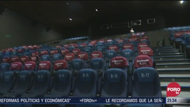 cines en cdmx reabren con medidas sanitarias por covid
