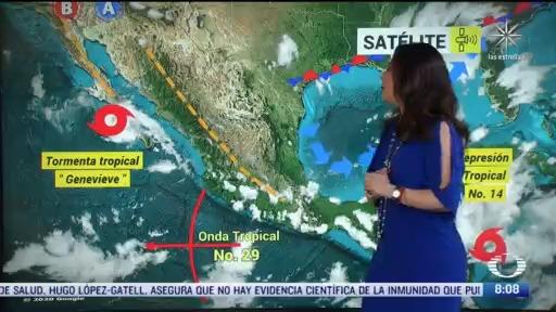 clima al aire depresion tropical 14 se dirige a quintana roo