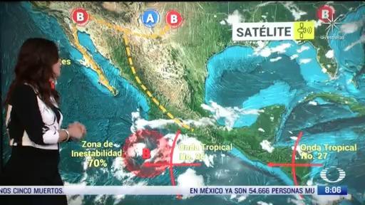 clima al aire preven lluvias y 24 grados centigrados en cdmx