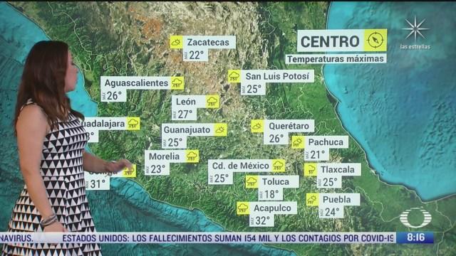 clima al aire pronostico de lluvias intensas en el pais