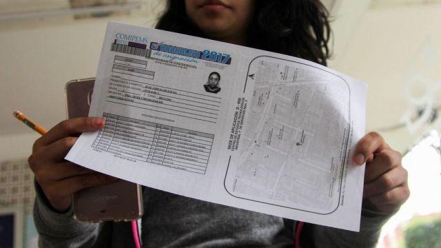 Descarga comprobante credencial para examen Comipems