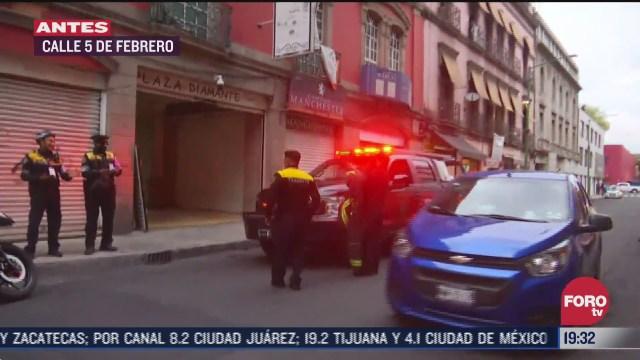 Bomberos de la CDMX controlan fuga de gas en vivienda de la colonia centro