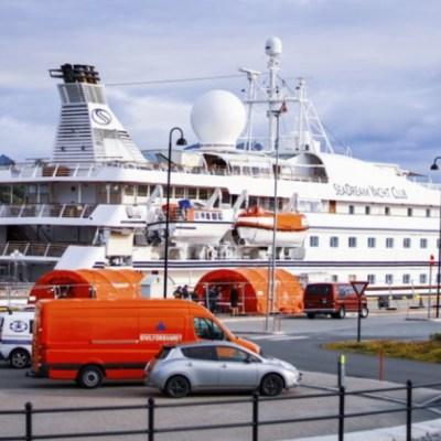Crucero en Noruega en cuarentena por caso de COVID-19