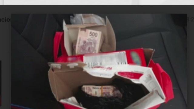 Guardia Nacional detiene a dos personas con un millón de pesos en efectivo (Twitter)