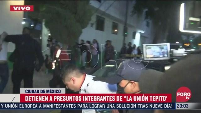 """policías de CDMX detuvieron a Jonathan """"N"""", presunto líder de la Unión Tepito"""