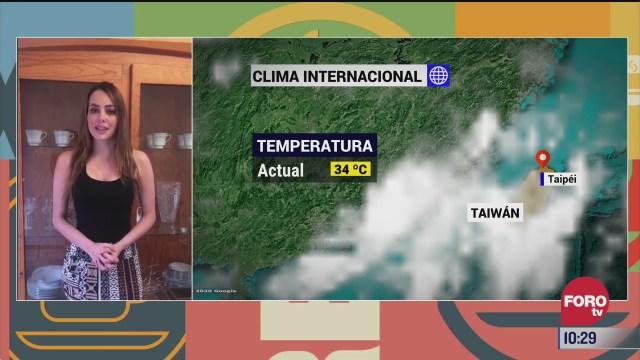 el climaenexpreso internacional del 11 de agosto del