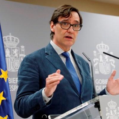 El ministro de Sanidad de España, Salvador Illa