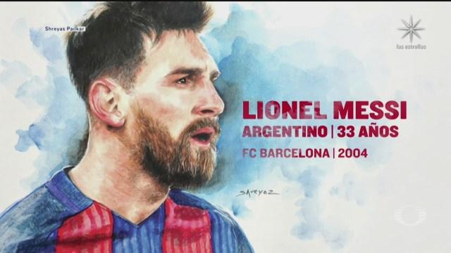 Messi anuncia salida del Barcelona