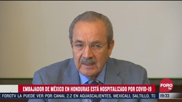 David Jiménez González, embajador de México en Honduras trasladado a hospital tras dar positivos a covid