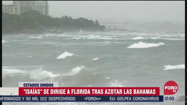 FOTO: 1 de agosto 2020, esperan llegada de huracan isaias a costa de florida