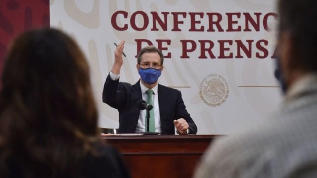 Conferencia SEP de Esteban Moctezuma regreso a clases