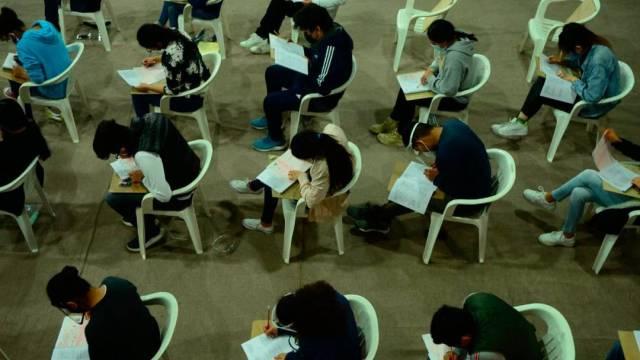 La UNAM aplicó el examen de admisión a ocho aspirantes que certificaron tener COVID-19 los pasados 19 y 20 de agosto, cuando se aplicó la prueba