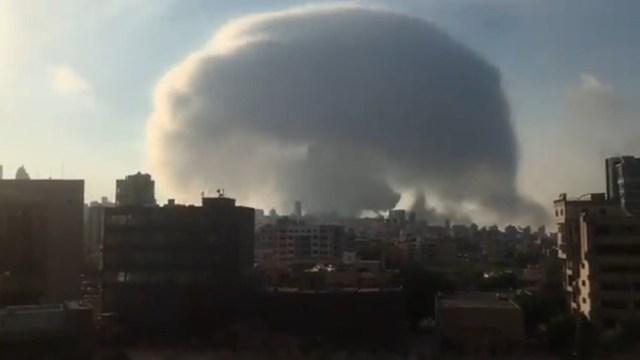 Estados Unidos reconoce que todavía no se sabe el motivo de la explosión en Líbano