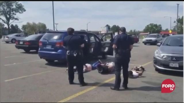 familia afroamericana victima de abuso policial en colorado eeuu
