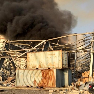 Video: Fuerte explosión sacude Beirut, Líbano; hay serios daños y heridos