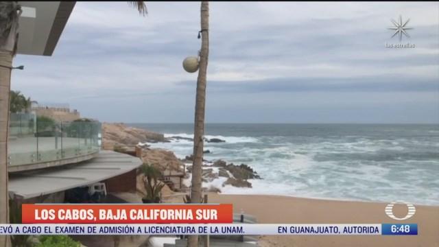 huracan genevieve provoca mucha lluvia en cabo san lucas