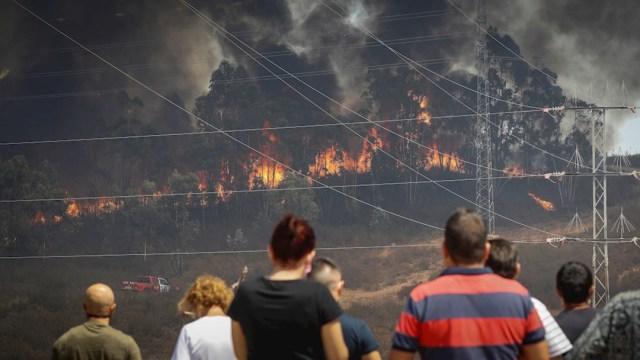 Los incendios forestales en España han obligado a evacuar a más de 3,500 personas de sus casas