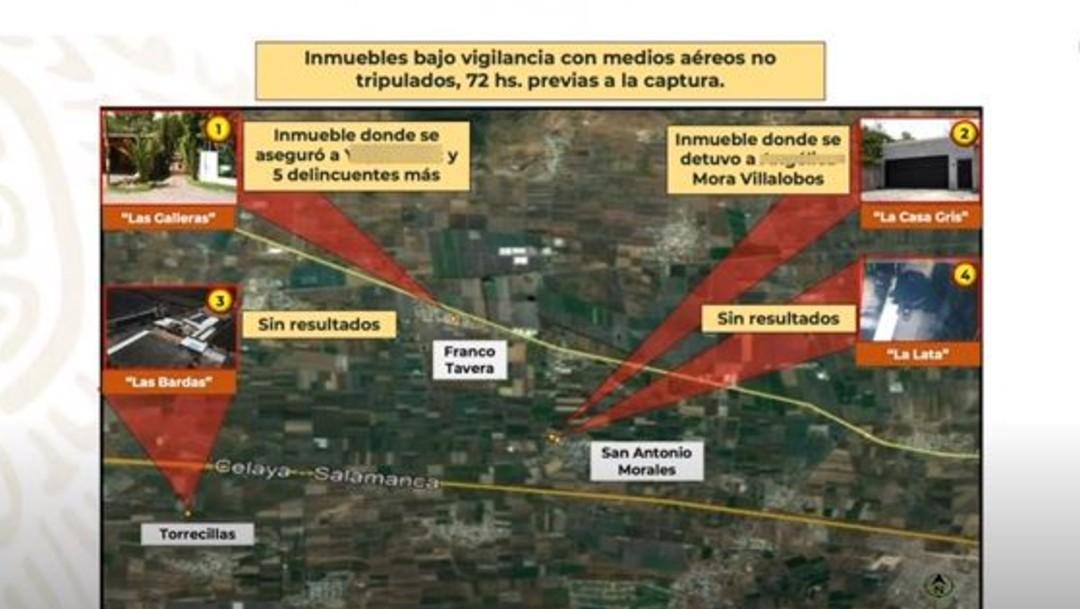 Inmuebles vigilados para detener a El Marro
