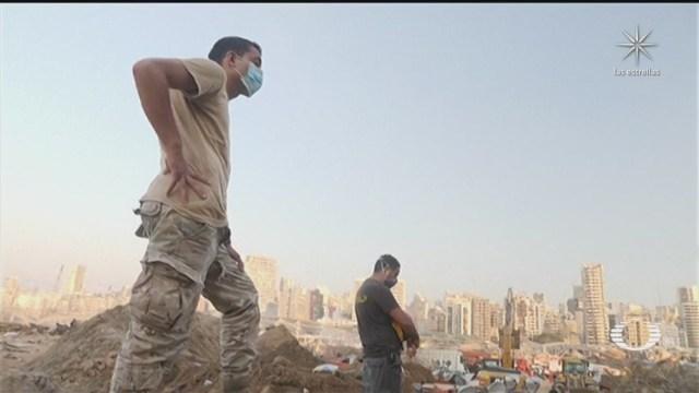 Investigan a funcionarios de Beirut por explosiones