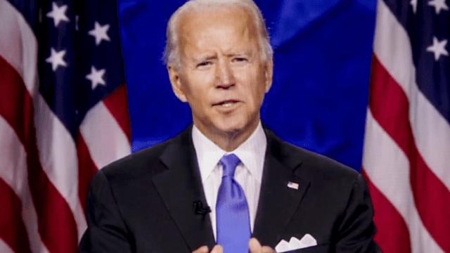 Mensaje Joe Biden Convención Demócrata candidato presidencia