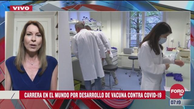 la carrera en el mundo por el desarrollo de la vacuna contra el covid