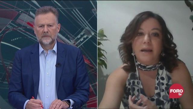 Leo Zuckermann platica con Wendy Figueroa, directora de la Red Nacional de Refugios sobre la violencia de género durante el confinamiento por la pandemia de coronavirus
