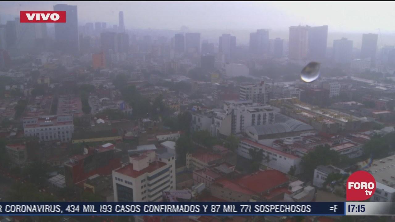 FOTO: 2 de agosto 2020, lluvia intensa en distintos puntos de la cdmx